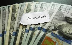 Annuity note Stock Photos