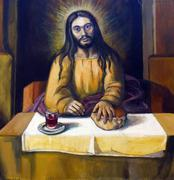 Stock Photo of Supper at Emmaus