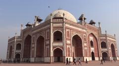 Humayun's Tomb, Delhi4 Stock Footage
