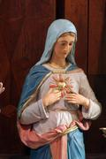 Stock Photo of Immaculate Heart of Mary