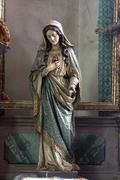 Immaculate Heart of Mary Stock Photos