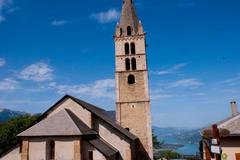 Saint sauveur,hautes alpes,france Stock Photos