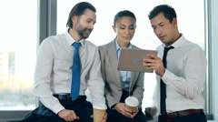 Conference Call Stock Footage