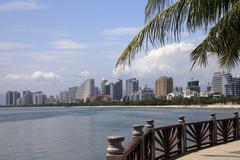 Hainan Island. Sanya - stock photo
