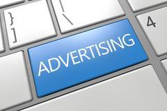 Advertising. - stock illustration