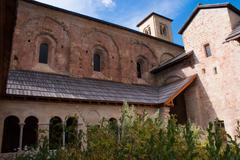 abbey of boscodon,hautes alpes,france - stock photo