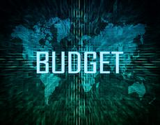 Budget - stock illustration