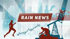 News Rain - stock after effects