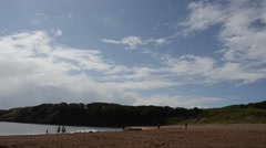 Beach, Pembrokeshire Coast  National  Park, Stock Footage