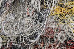Cable - Recycling  Stock Photos