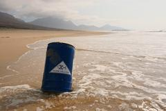 Water Pollution - Water Contamination - Marine Pollution Stock Photos