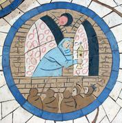 Saint Clare of Assisi   Stock Photos