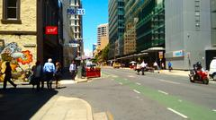 Stock Photo of Colorful street in Adelaide