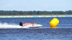 Grand Prix Formula 1 H2O World 1 Stock Footage