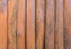 Wooden planks wall for background. Stock Photos