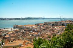 Stock Photo of Cityscape in Lisbon, Portugal