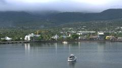 Samoa Apia waterfront view 4k Stock Footage