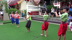 Traditional Thai Dancing - 2 Stock Footage