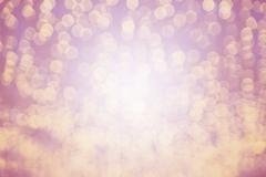 colourful of bokeh pink light blurred - stock photo
