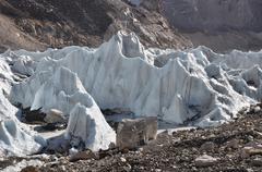 Khumbu Icefall Stock Photos