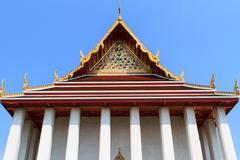 Golden Mount Temple - stock photo