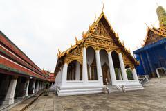The temple Wat phra kaeo Stock Photos