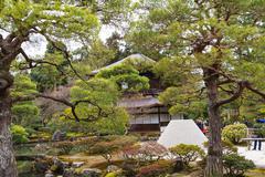 Ginkakuji temple - Kyoto, Japan Stock Photos