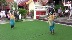 Stock Video Footage of Traditional Thai Dancing - 4