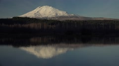 Mount Adams, Washington - stock footage