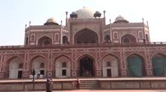 Humayun's Tomb, Delhi2 Stock Footage