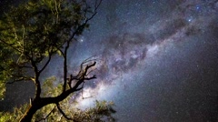 Alice Springs - Star Timelapse - stock footage