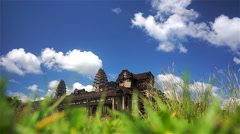 Untitled ProjectAngkor Wat, low angle, Siem Reap, Cambodia Stock Footage