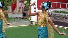 Traditional Thai Dancing - 5 Stock Footage