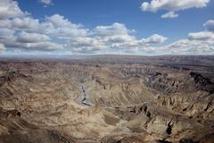 Fish river canyon Namibia - stock photo