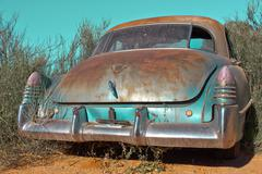 Oldtimer desolate - stock photo