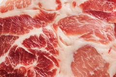 Background texture of marbled meat - stock photo