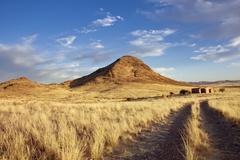 namibia landscape - stock photo