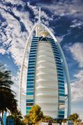 Burj Al Arab hotel Stock Photos