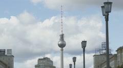 Berlin Skyline, Germany Arkistovideo