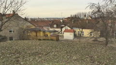 Vilnius. Roofs of Old Town 1 - stock footage