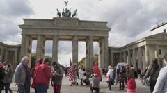 Berlin City, Germany - stock footage