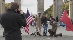 Berlin City, Germany Stock Footage