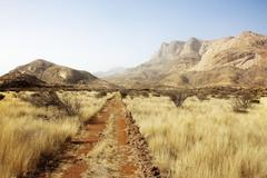 Steppe erongo mountains Stock Photos