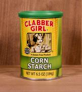 Container of Clabber Girl Corn Starch Stock Photos