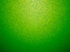 Green checkered background with a light vignette Stock Illustration