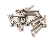 Machine screws - stock photo