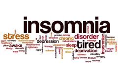 Insomnia word cloud Piirros