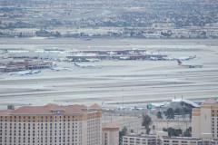 Las Vegas International Airport - Time-Lapse Stock Footage