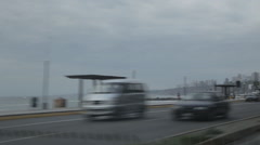 Lima by car Stock Footage