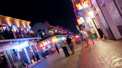Bourbon Street Stock Footage